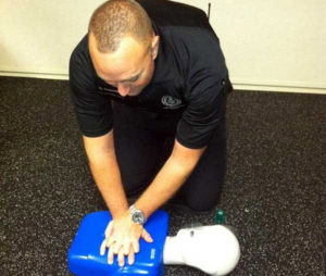 School Security Officer CPR Training