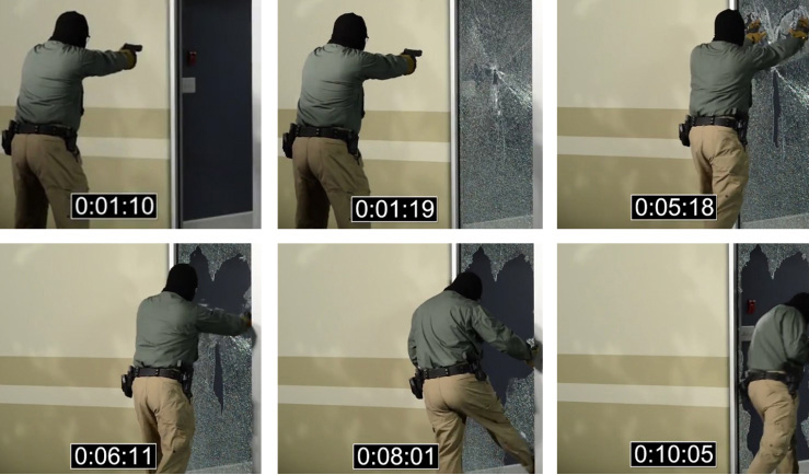 Active Shooter Tempered Glass