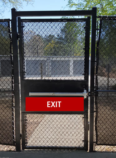 Secure Egress Gate