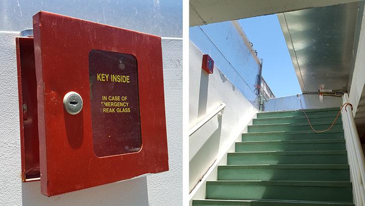 Roof Top Escape Key