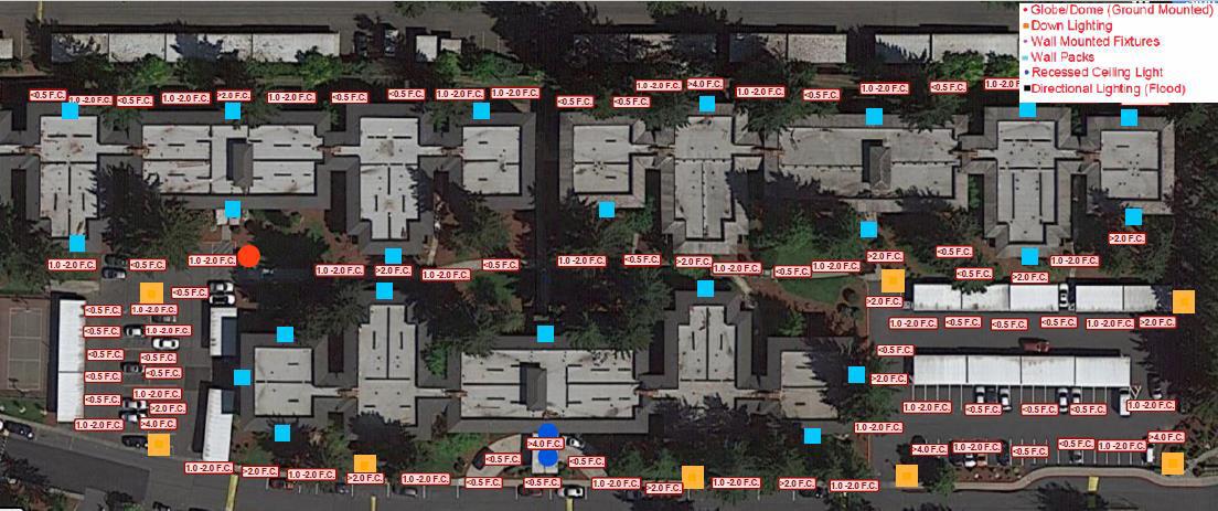 Lighting Map