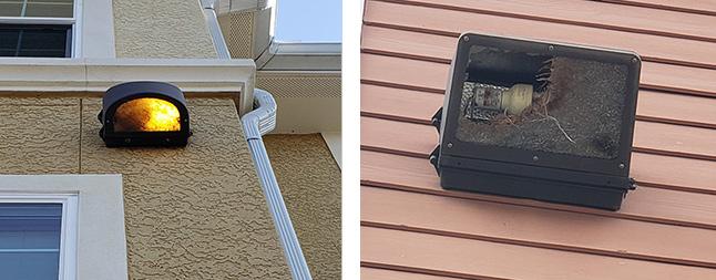 Premises Liability and Apartment - Broken Lights