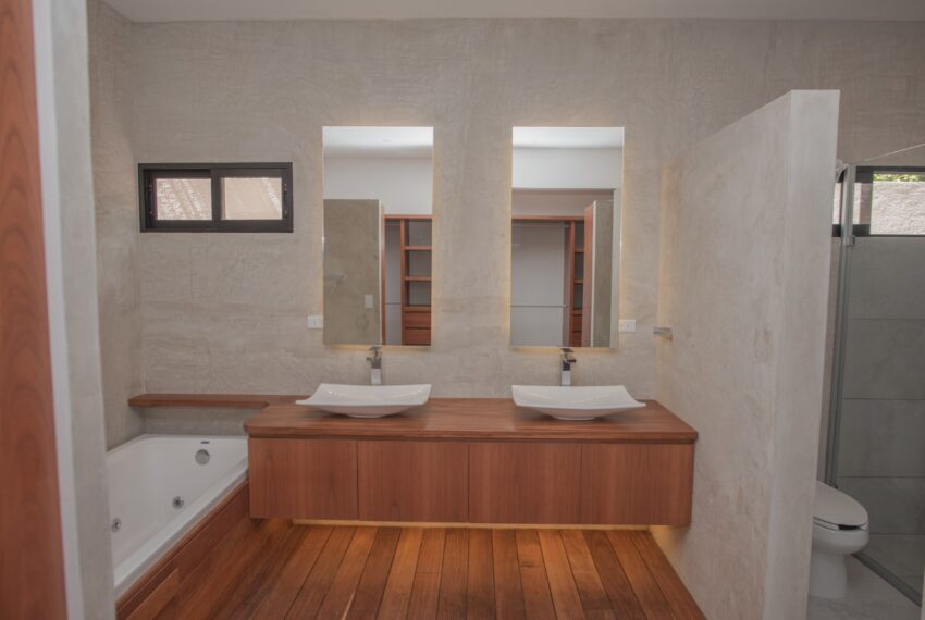 baño casa en venta en cancun