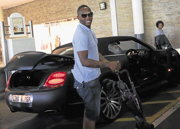 Benni McCarthy And His Car Collection