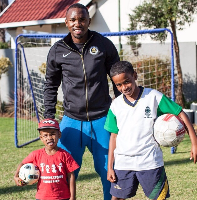 Photo of South African Soccer Players And Their Children