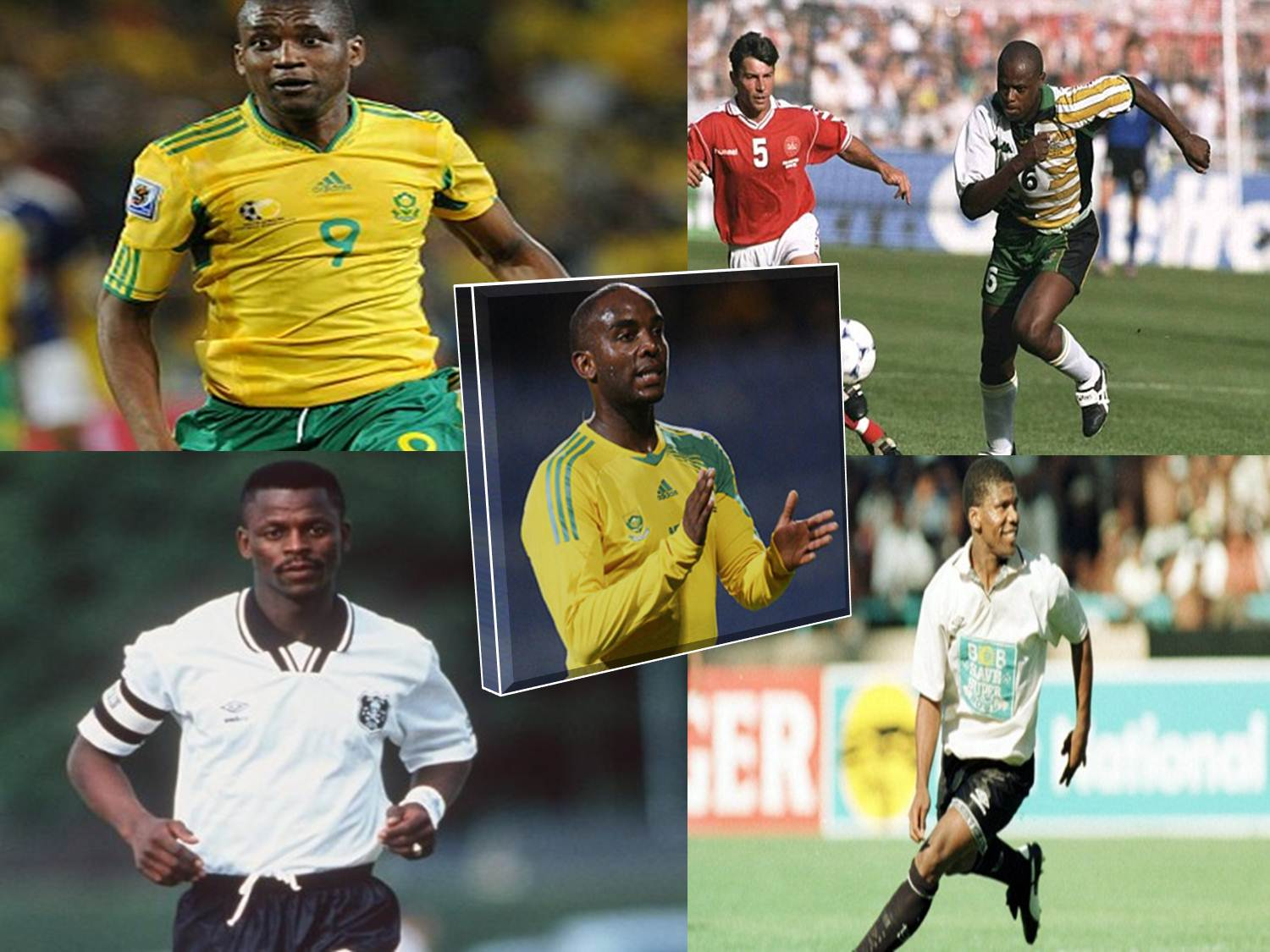 Photo of South Africa's top 5 strikers of all time
