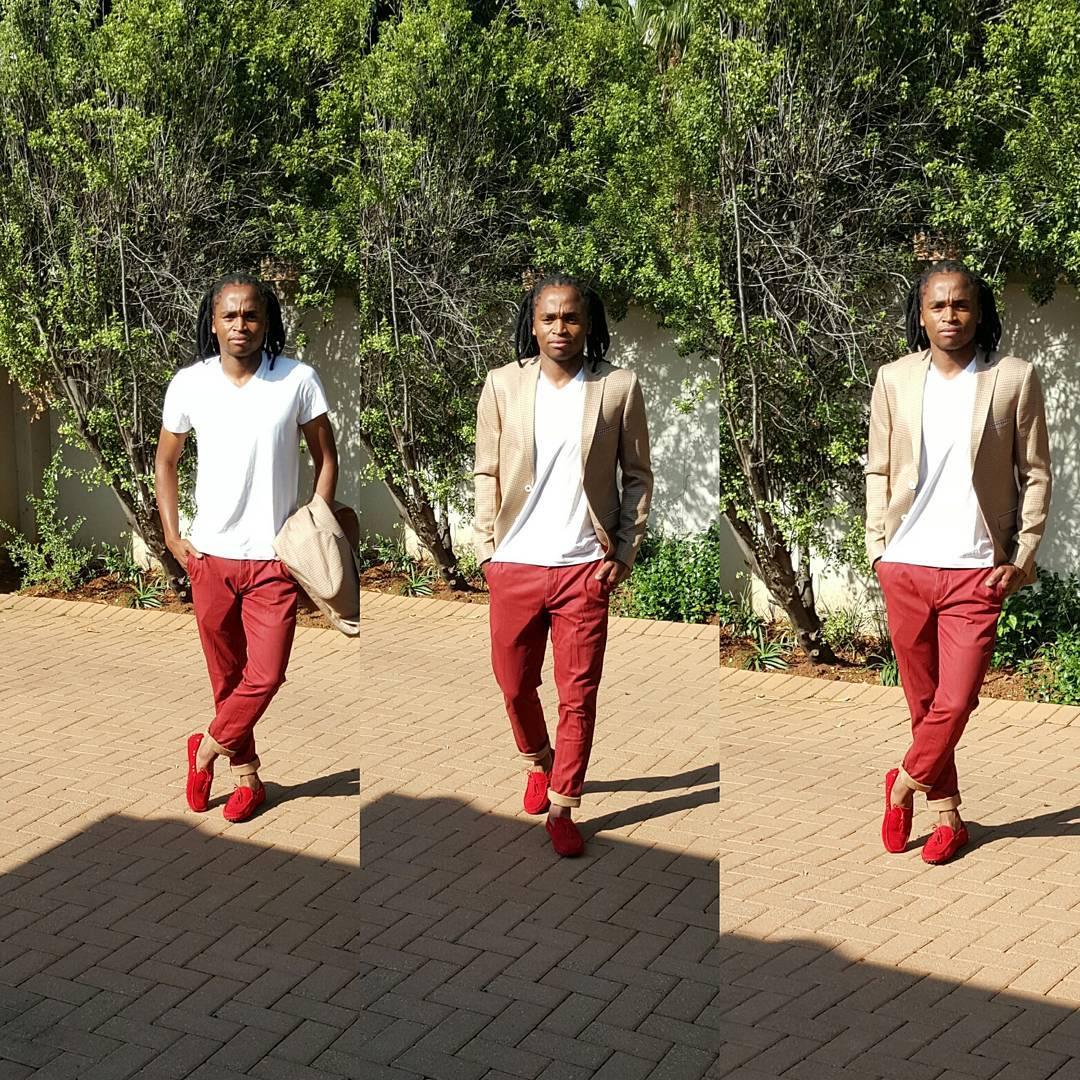 Photo of How do you like Siphiwe Tshabalala's fashion sense