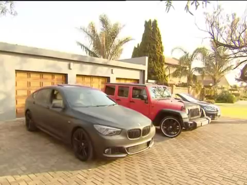 Photo of Footballers and their cars, Bernard Parker