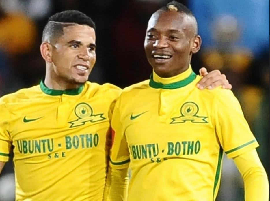Mosimane Appoints Billiat And Dolly As Sundowns Vice Captains