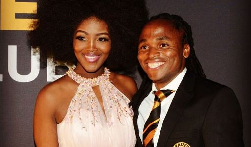 Pic! Siphiwe Tshabalala Poses With His Awards