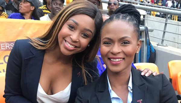 Minnie Dlamini Faces Backlash Over Her Sports Presenting Skills