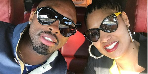 Pics! Wendy Parker Proves She's Her Husband's Biggest Supporter