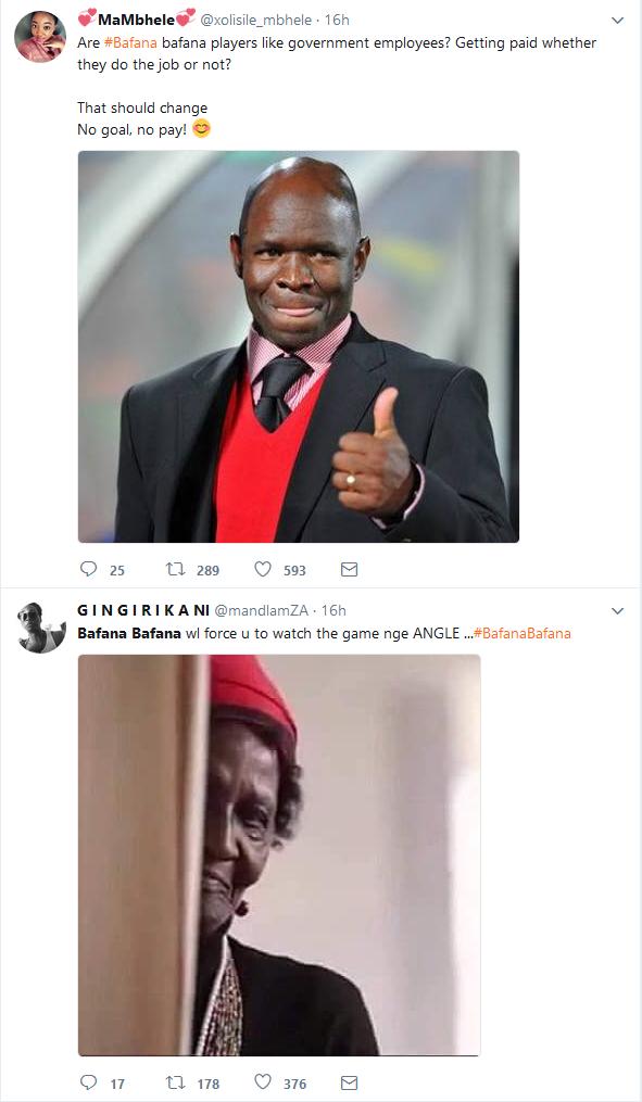 In Memes Black Twitter Reacts To Bafana Bafana Loss Diski 365