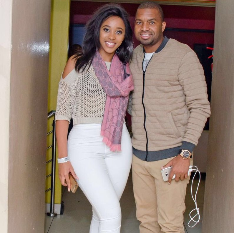 Photo of Sbahle Shows She's Khune's Number One Fan
