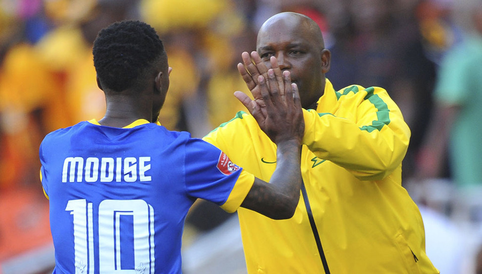 How Mosimane Reacted To Modise's Accusations In His Book