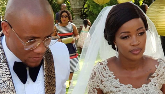 Check Out Dino Ndlovu's Birthday Shoutout To His New Wife