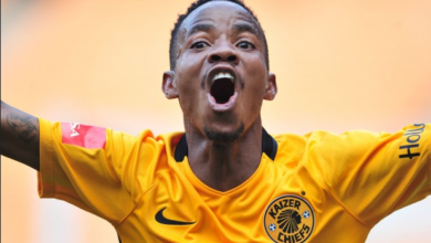 Photo of Footballers Send Love To Molangoane After Broken Ankle Injury