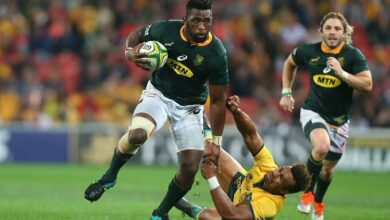 "Photo of Boks Captain Siya Kolisi's Father Jets Overseas ""First Time"" For RWC Final"