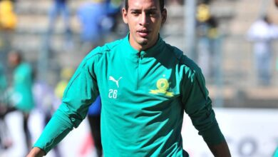 "Photo of Temperamental  Striker Gaston Sirino ""Needs A Psychologist"": Pisto Mosimane"