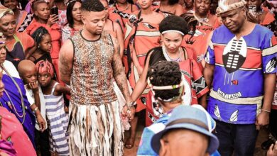 Photo of George Lebese Weds Bae In Traditional Ceremony (See Pics)
