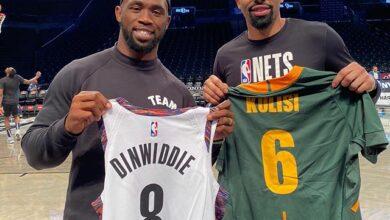 Photo of Siya Kolisi Meets Fellow Roc Nations Sport NBA Stars