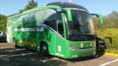 Photo of Nyasha Mushekwi R2.9 Million Bus Donation Finally Unveiled At Former Zimbabwe Club