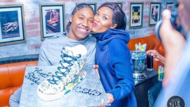 Photo of Caster Semenya Celebrates Birthday & Wedding Anniversary