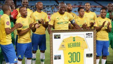 Photo of Mamelodi Sundowns Legend Hlompho Kekana 300 Not Out