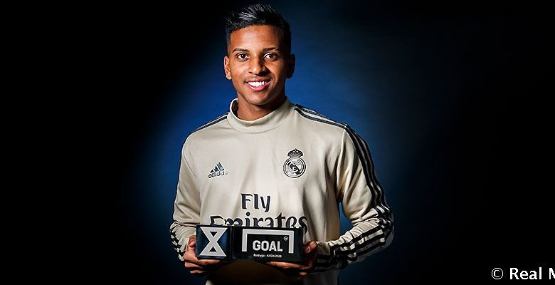 Rodrygo Goes has claimed the NxGn Best Young Player in the World award