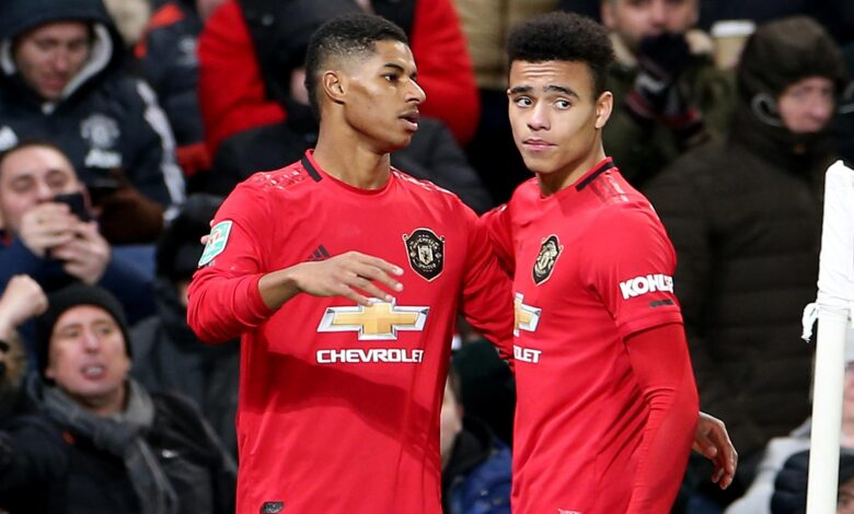 UNITED MUST BE PROUD OF MARCUS AND MASON