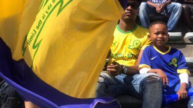 Photo of Downs super fan, Sibusiso Encore