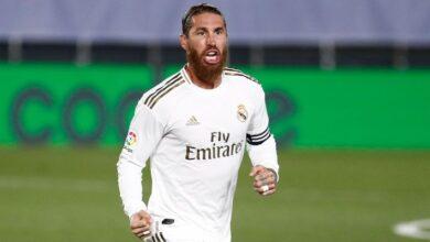 Photo of Real Madrid Captain Sergio Ramos enjoying his highest-scoring LaLiga campaign