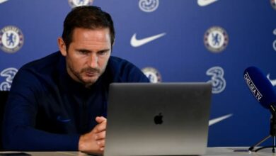 Photo of Chelsea`s Frank Lampard On Kante's Chances Of Playing On Sunday And What Our Approach Will Be