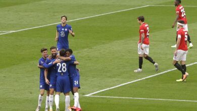 Photo of Manchester United 1 Chelsea 3