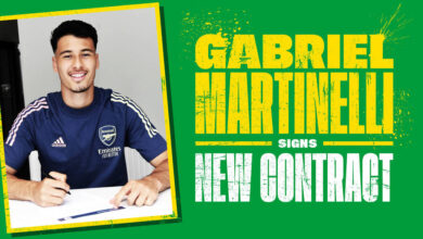 Photo of Gabriel Martinelli Signs New Long-Term Contract With Arsenal