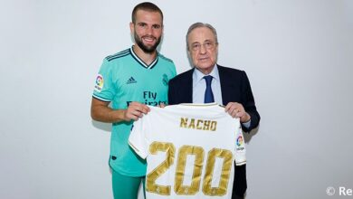Photo of Nacho: 200 Games For Real Madrid