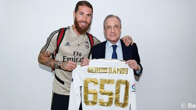 Photo of Sergio Ramos Nets On His 650th Real Madrid Appearance