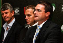 Photo of The CBPJ Players' Fund's Green and Gold connection
