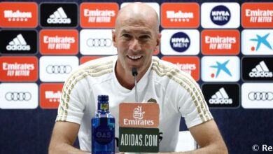 """Photo of Real Madrid Coach Zidane: """"We want to continue with our energy and give our all"""""""