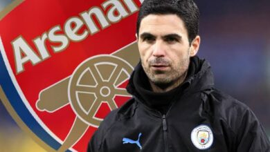 Photo of Arsenal`s Mikel Arteta On His Heads Up FA Cup Final Selection
