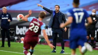 Photo of Chelsea Coach Lampard On Where The Team Did Not Do Enough At West Ham And Fighting To Move Forward