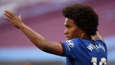 Photo of Frank Lampard Hopeful Willian Will Sign New Chelsea Contract