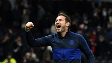 Photo of Chelsea`s Frank Lampard On Shortlist For Premier League Manager Of The Season prize