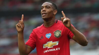 Photo of Anthony Martial Wins Man Utd July 2020 Goal Of The Month Award