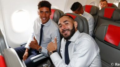 Photo of Real Madrid En Route To Manchester