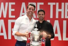 Photo of Arsenal Coach Mikel Arteta On Winning The Cup, Auba & More