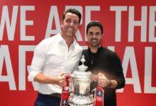 Photo of Arsenal Coach Mikel Arteta On Winning The Cup, Auba & More