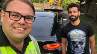 Photo of Mo Salah's Bentley Continental GT Recovered By AA After Breakdown