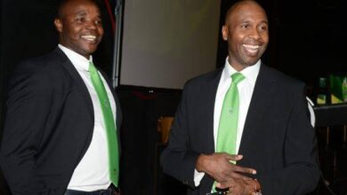 Aaron Mokoena and Lucas Radebe are representatives of South African province Gauteng