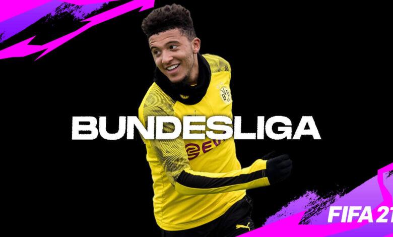 FIFA 21 Ultimate Bundesliga XI!